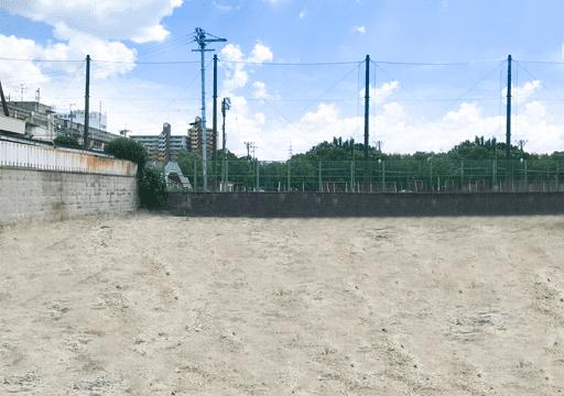 現地写真 - 羽曳野市高鷲 分譲地販売開始 - 大阪・堺の工務店ラックハウジング