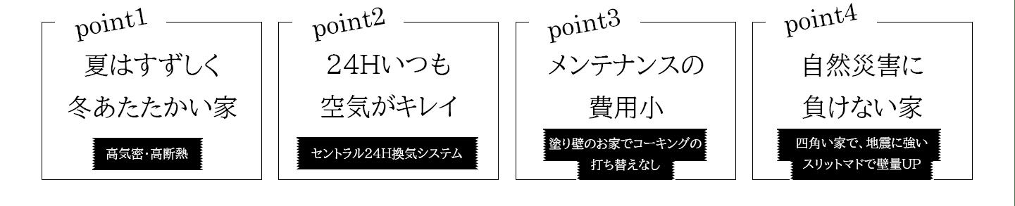 ポイント - 羽曳野市高鷲 分譲地販売開始 - 大阪・堺の工務店ラックハウジング