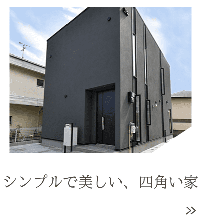 大阪・堺の工務店ラックハウジング-注文住宅 施工事例-シンプルで美しい、四角い家